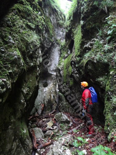 Iesirea din canionul Cheia Rea - Muntii Apuseni