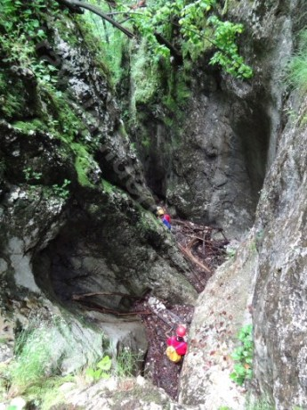 Verticala 10 - Canionul Cheia Rea - Muntii Bihor