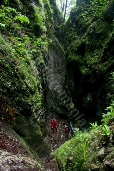 Verticala 7 - Canionul Cheia Rea - descoperind Muntii Apuseni