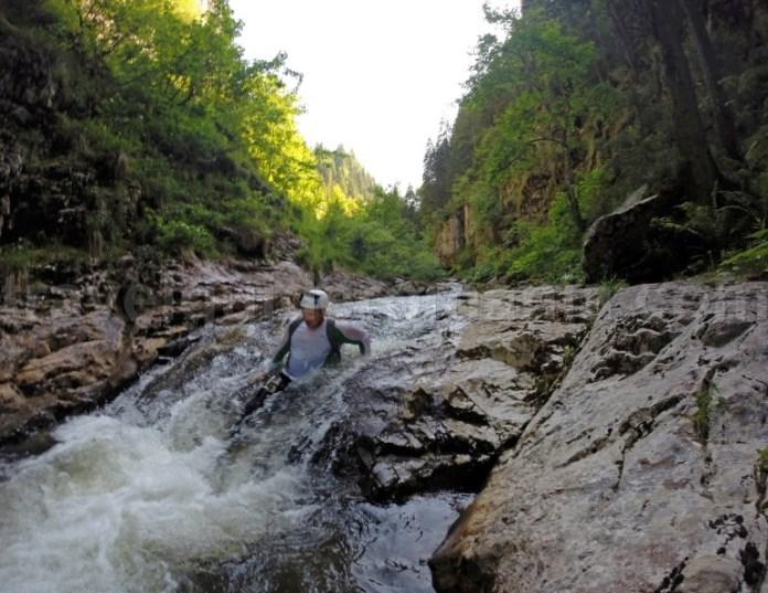 Body rafting in Romania - Cheile Somesului Cald