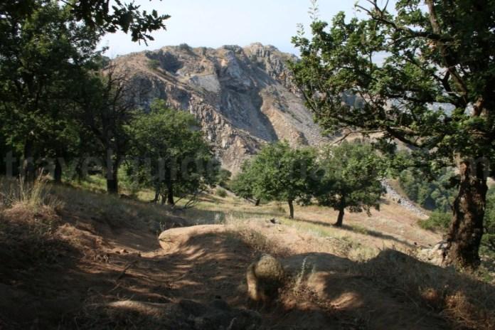 Traseu turistic spre Varful Tutuiatul - Muntii Macin