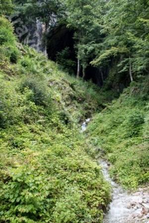 Portalul pesterii Meziad - Muntii Padurea Craiului