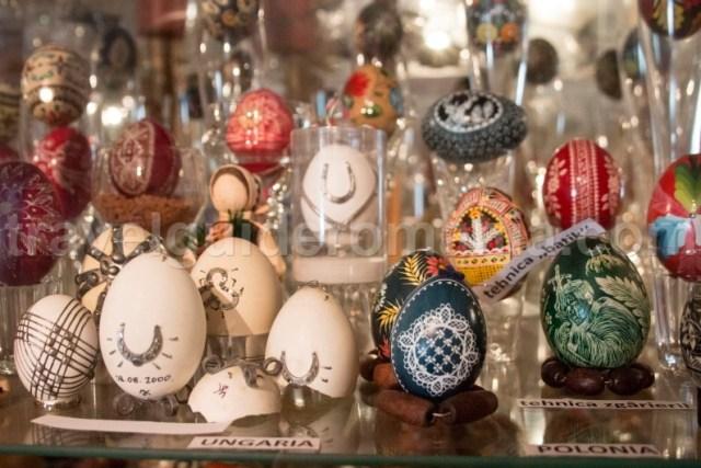 Colectia de oua a artistei Letiția Orșvischi