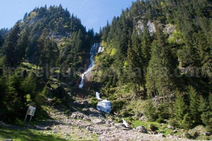 Cea mai inalta cascada din Romania - Cascada Cailor