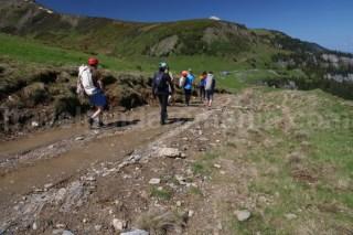 Drum ce duce la intrarea in canionul Cailor - Muntii Rodnei