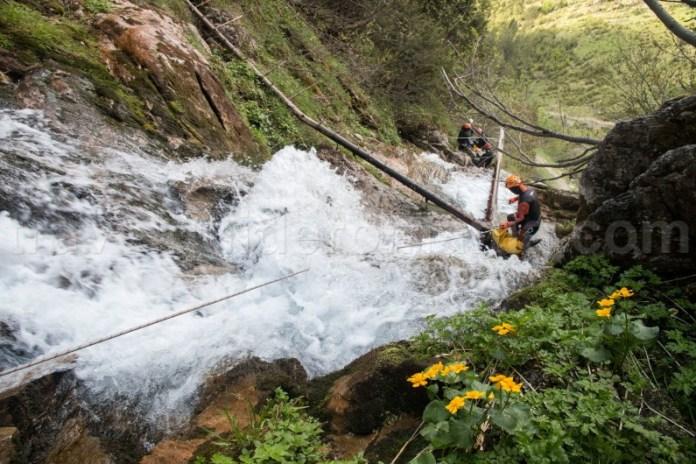 Excursii ghidate in canionul Cailor - Muntii Rodnei - Maramures