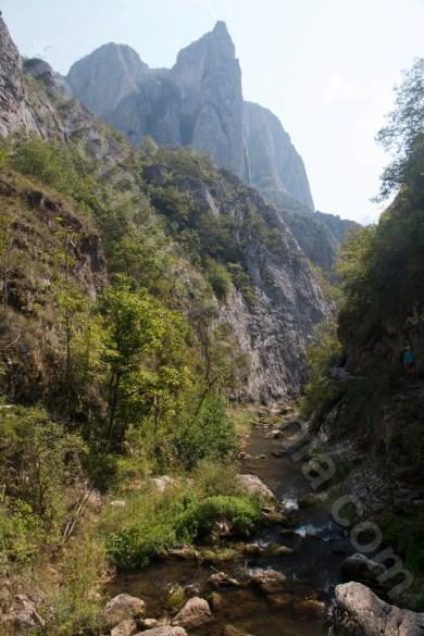 Paraul Hasdate care curge prin Cheile Turzii