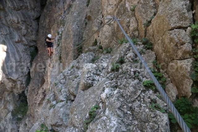 Trasee de via ferrata din Trasilvania - Cheile Turzii