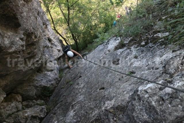 Trasee din via ferrata - Cheile Turzii - Muntii Apuseni