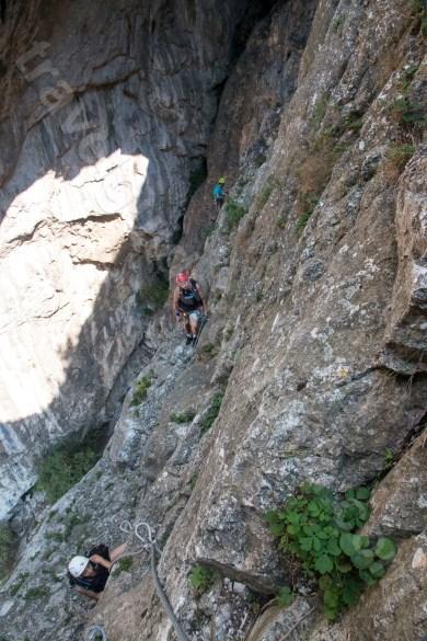 Traseu de via ferrata din Cheile Turzii - jud Cluj