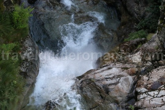Cascada mare - Canionul Valea Marii