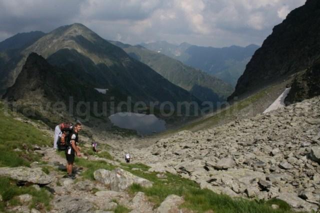 Lacul Caltun - Muntii Fagaras - Carpatii Meridionali