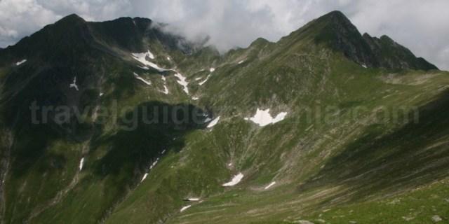 Trasee marcate in muntii Fagaras - Romania