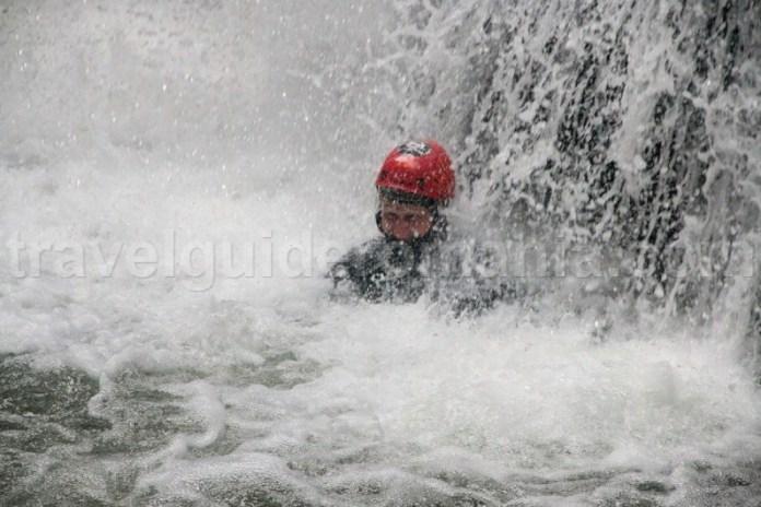 Canyoning in Romania - Canionul Galbenei