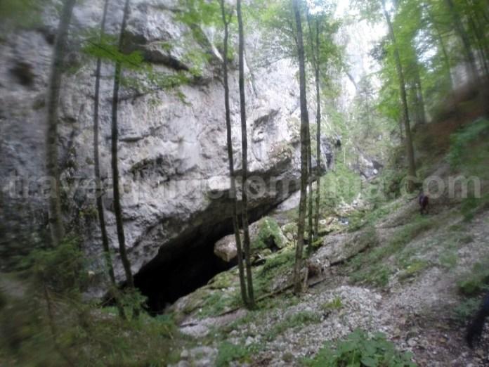 Obiective turistice din Muntii Apuseni - Cheile si Canionul Galbenei