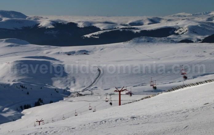 Partii de schi din Muntii Bucegi - Domeniu