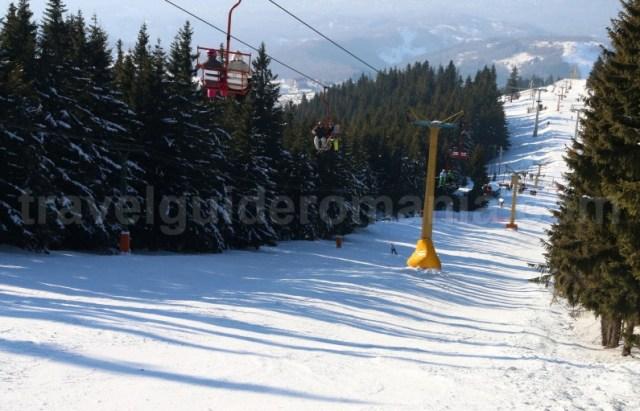 Schi in Statiunea Parangul Mic - Petrosani