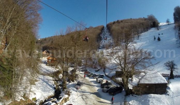 Telescaun Statiunea turistica Parangul Mic - Petrosani - judetul Hunedoara