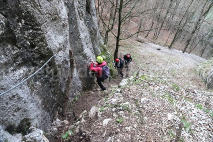 Excursii ghidate in judetul Bihor - Via ferrata