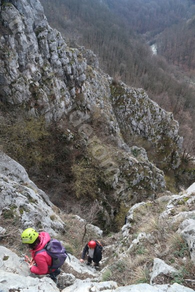 Programe de team building in Romania - Via ferrata