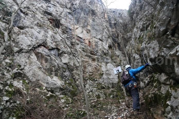Team building la Vadul Crisului - Via ferrata