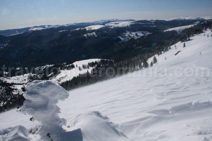 Ture de iarna in Muntii Apuseni - Masivul Vladeasa
