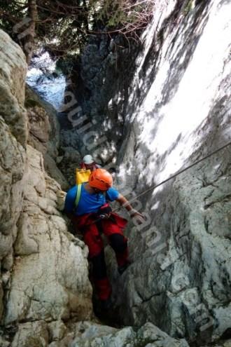 Canyoning pe Valea Oratii - Podu Dambovitei