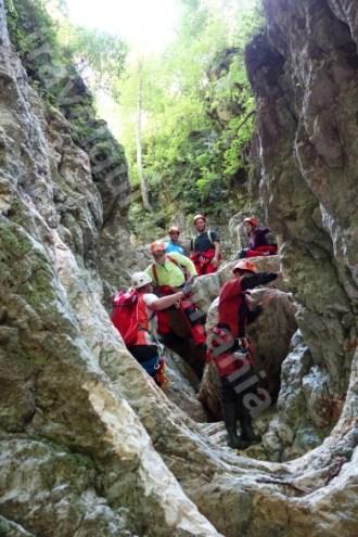 Obiective turistice langa Bran - Canionul Oratii
