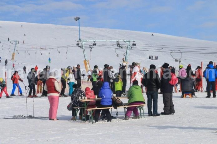 Partii de schi din Romania