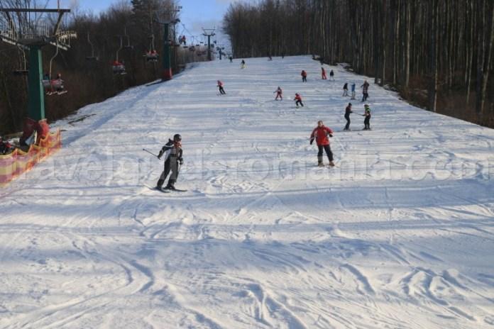 Locuri unde poti schia in Romania