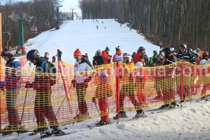 Schi in Romania - partia Valiug