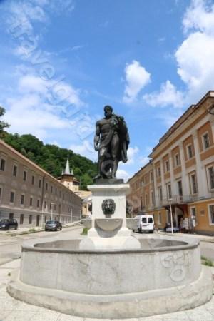 Statuia lui Hercules, simbolul stațiunii Baile Herculane