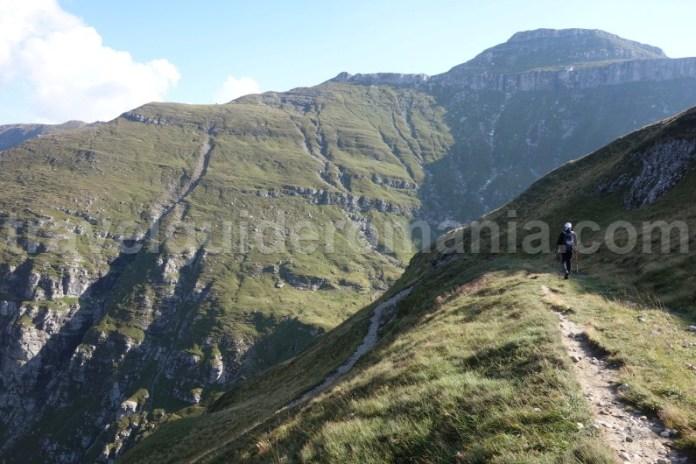 Idei de trasee in muntii Bucegi - valea Cerbului