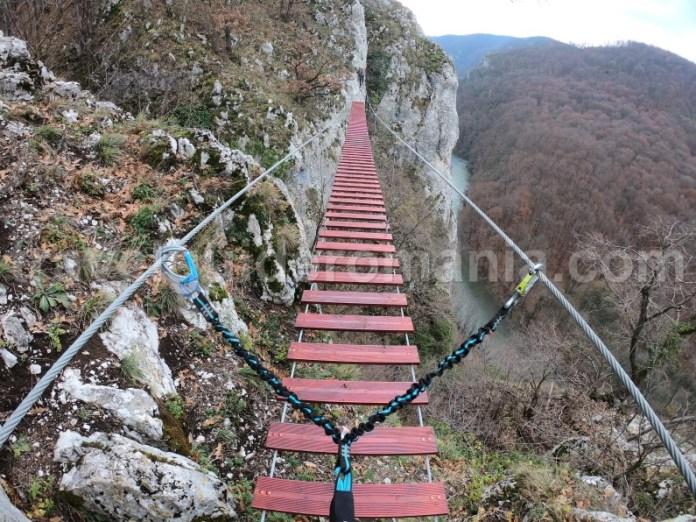 Trasee montane Apuseni - via ferrata vadu Crisului