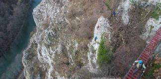 Turism in Apuseni - Via ferrata Vadu Crisului