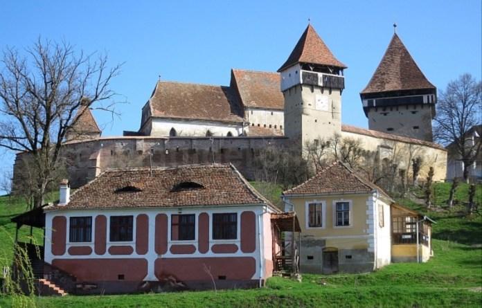 biserica fortificata sat alma vii transilvania