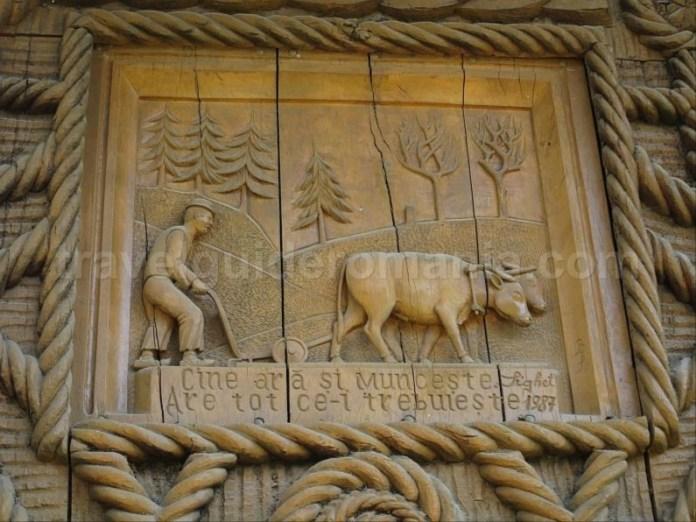 Destinaţia ecoturistică Mara Cosău Creasta Cocoșului Maramureş lemn traditii