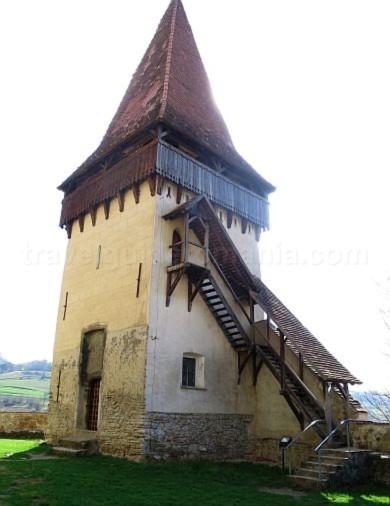 turn biserica unesco biertan transilvania