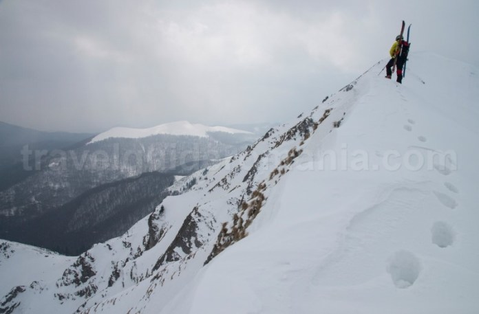 Trasee de iarna din Romania - Creasta Oslea