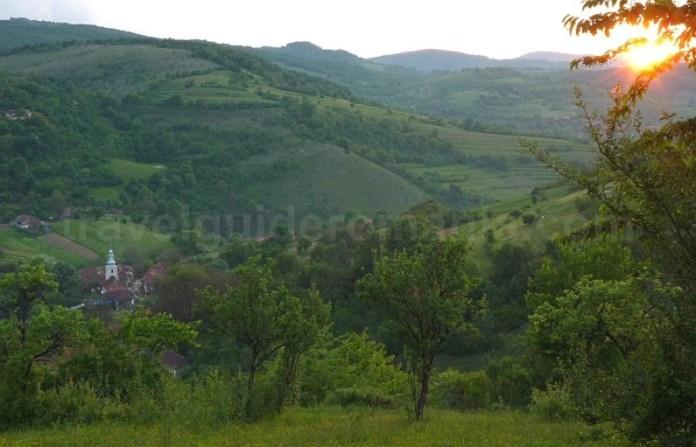Platoul Vascau Apuseni sat calugari