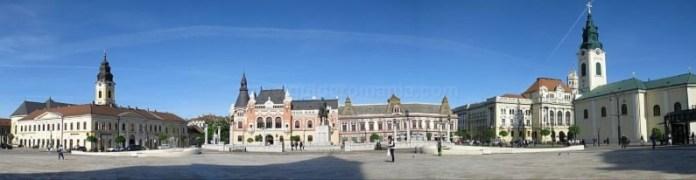Oradea - Piata Unirii
