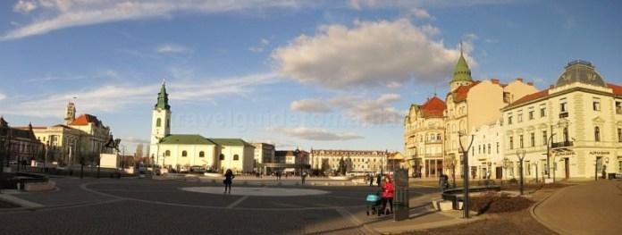 Oradea - Piata Unirii nord