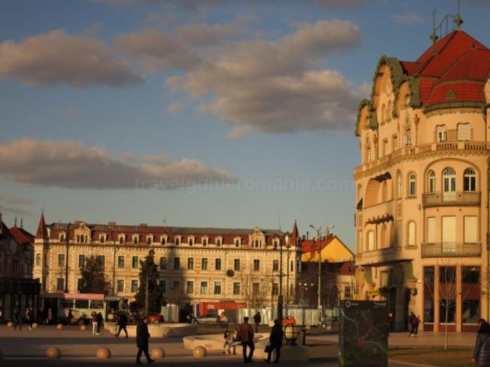 Palatul Levay si Palatul Vulturul Negru Oradea