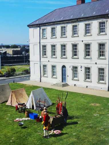national museum dublin reenactment