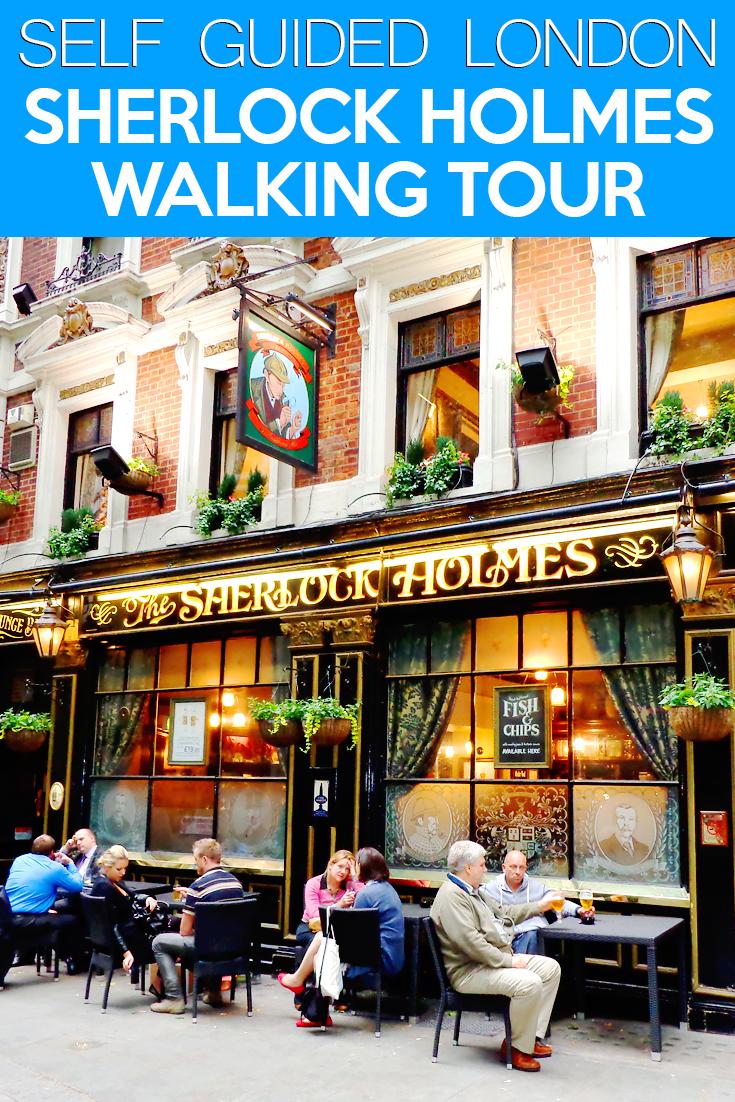 sherlock holmes london walking tour