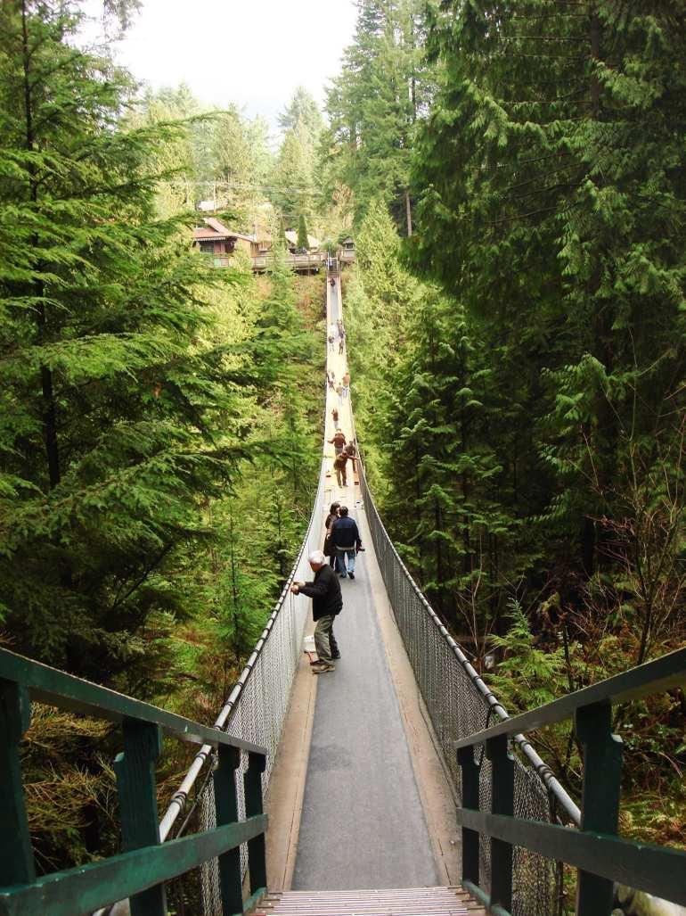 Capilano Suspension Bridge Shuttle