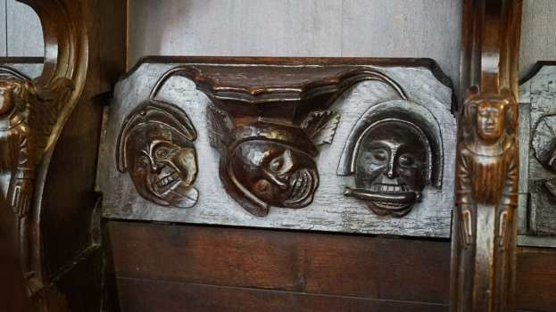 Misericord Carvings