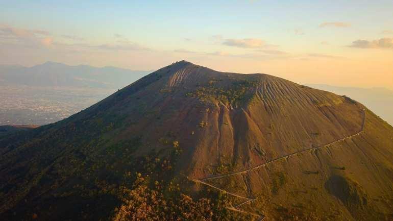 Climb Mount Vesuvius