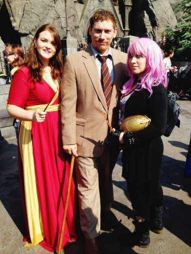 Harry Potter cosplayers
