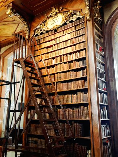 austrian-national-library-shelf